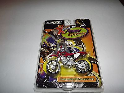 ERTL X-treme Power Sports Diecast Honda XR250 Motorcycle. 2001