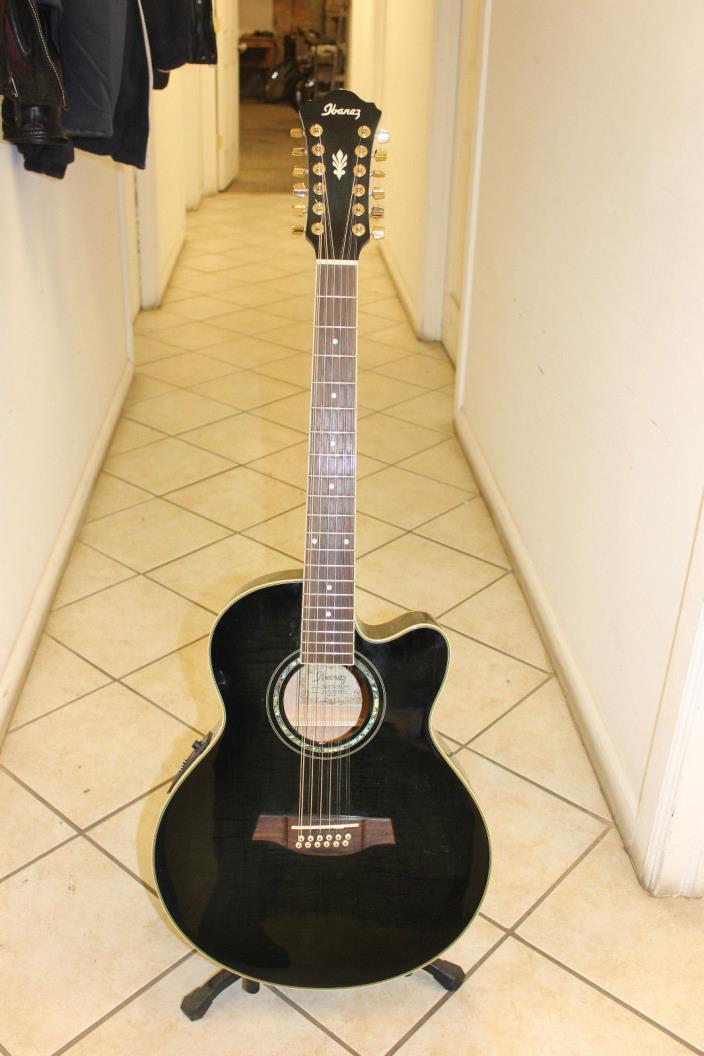 Ibanez Acoustic Electric 12 String Guitar AEL2012ETKS