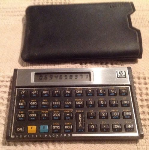 HP 15C Scientific Calculator - Nice!