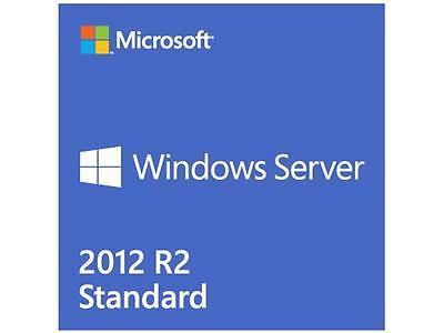 New Microsoft Windows Server 2012 Standard R2 x64 P73-06165