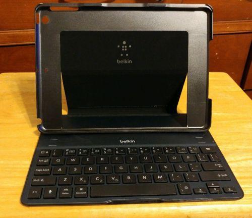 Belkin QODE iPad Air 1st Gen Ultimate Keyboard Case f5l151 Blue