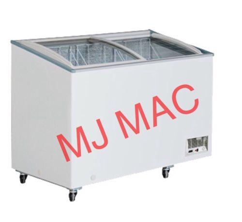 NEW MAXX COLD M# MXH10.6C FROZEN FOOD CURVED GLASS X-SERIES MERCHANDISER