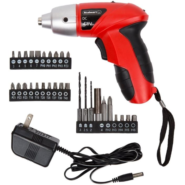 Trademark 75-60100 Hawk 4.8V Cordless Screwdriver with Light NEW