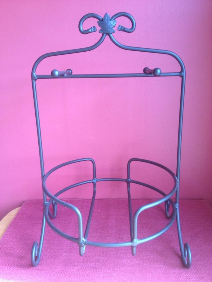 Longaberger FOUNDRY Collection~WROUGHT IRON BUFFET SERVER/PLATE STAND~NEW!