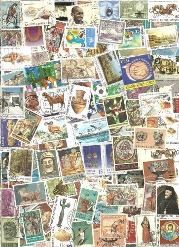 Cyprus Collection Pulled from Stamp Hoard 121 Mint/Used Mostly Different