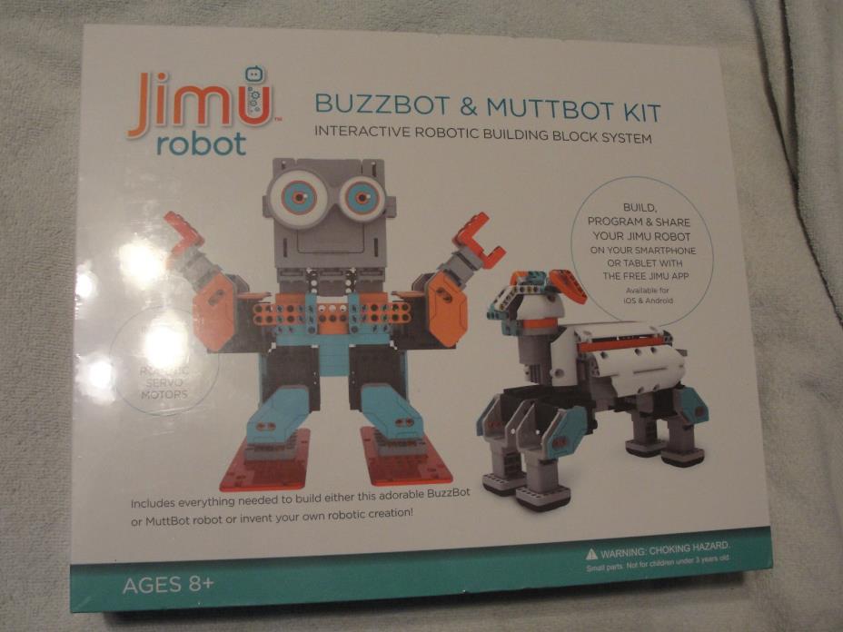 UBTECH Jimu Robot DIY Buzzbot/Muttbot Robotics Kit brand Free Shipping