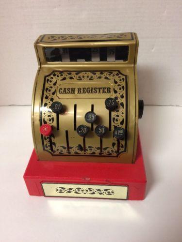 Vintage 1976 Buddy L Cash Register In Working Order Japan As Is