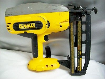 Dewalt Cordless XRP Straight Finish Nailer DC616 18 V - TOOL ONLY - Free Ship