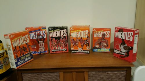 michael jordan wheaties box lot of 12 air jordan