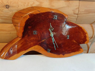Nice Cherry Wood Wall Clock