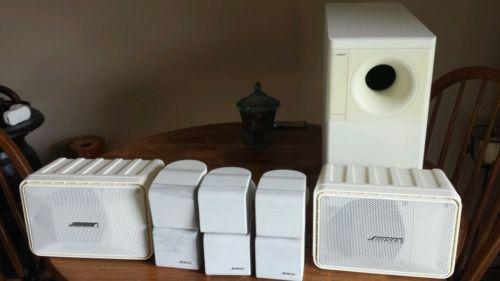 Bose acoustimass 7 speaker system w/ bose 101 speakers