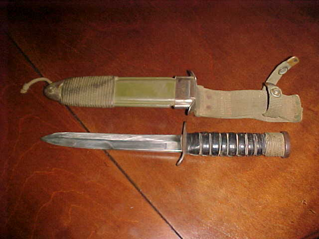 Military Trench Knife USM3 CASE with Sheathing 11