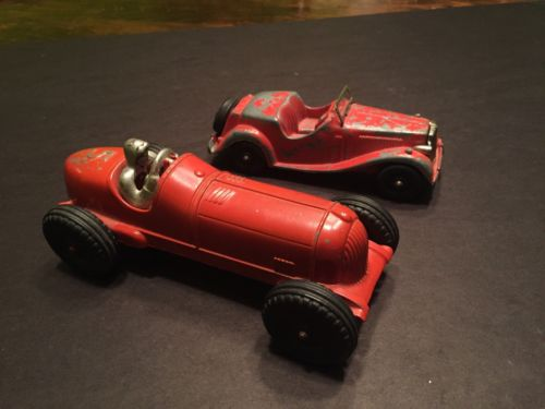 Vintage Hubley Toy Cars