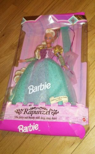 vintage 1994 BARBIE RAPUNZEL Children's Collector Series AS IS