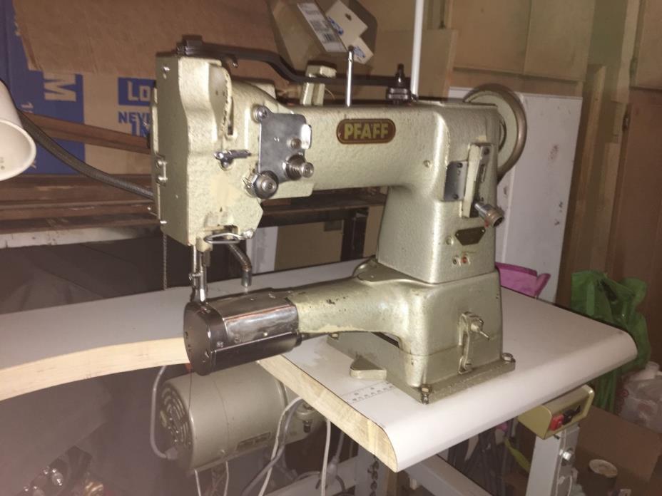 Industrial Pfaff Cylinder Bed Sewing Machine Walking Foot
