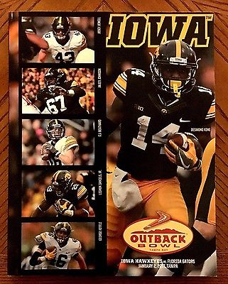 2017 OUTBACK BOWL MEDIA GUIDE (Iowa) *BRAND NEW*