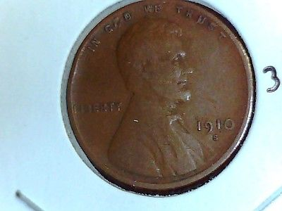 1910-S WHEAT PENNY