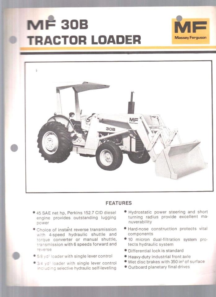 Mf 30b Tractor : Ferguson tractor for sale classifieds
