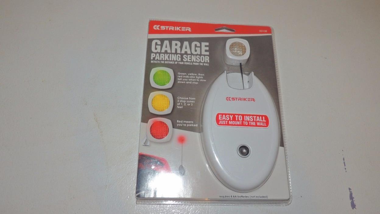 Striker Parking Attendant Garage Parking Sensor Eliminates garage fender benders