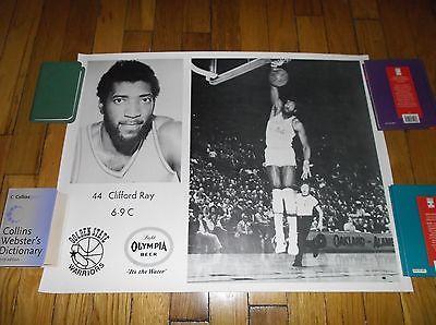 CLIFFORD RAY SI (Like) POSTER NBA BASKETBALL WARRIORS 1970's