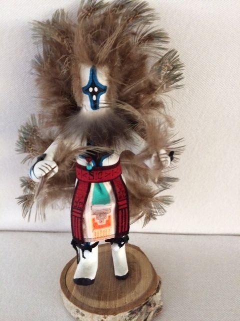 Kachina Doll - White Chasing Star