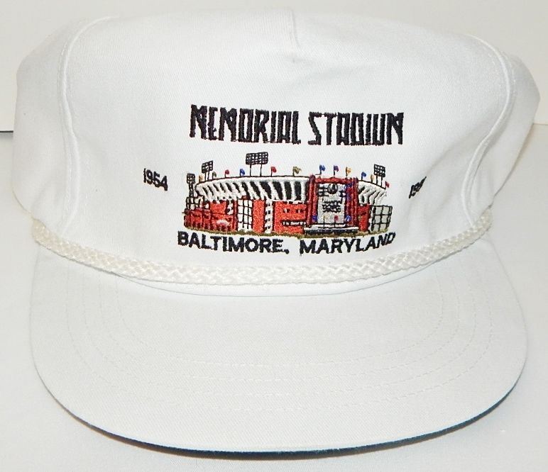 MEMORIAL STADIUM BALTIMORE ORIOLES 1954-1991 ADJUSTABLE SNAPBACK HAT