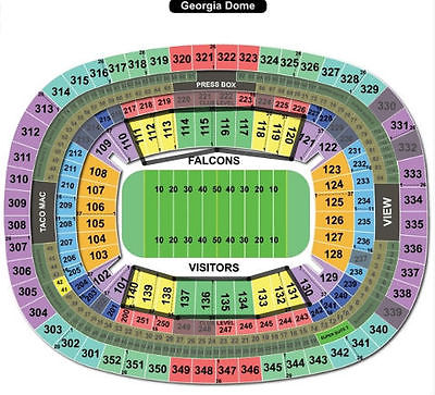 2 NFC Championship Game GREEN BAY Packers vs Falcons 1/22 LOWER LEVEL SIDELNE