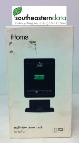iHome Power Dock iPad iPad 2 ipad 3 IH-IP2006 USB Charging Dock