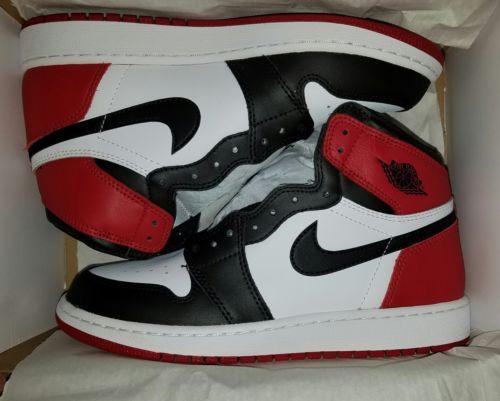 Air jordan 1 black toe sz7