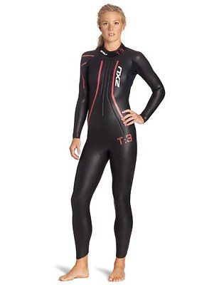 Womens 2xU Wetsuit T:3 Large New