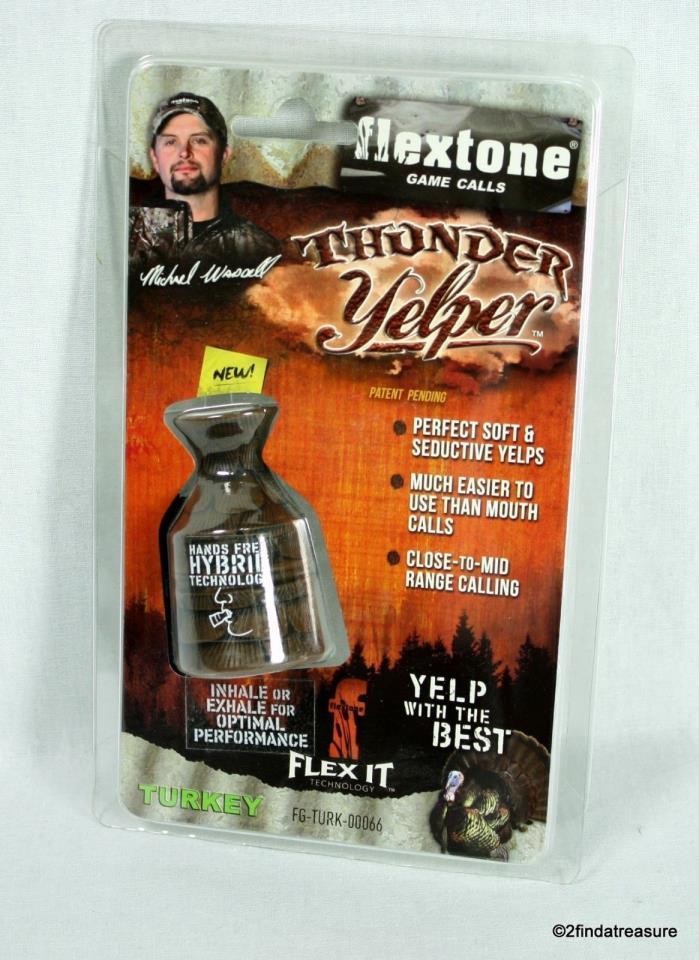 Flextone Game Calls Michael Waddell Thunder Yelper Turkey NEW