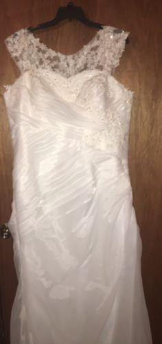 Wedding Dress Plus Size 22