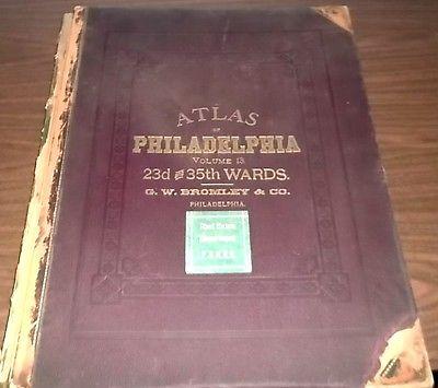 Atlas of the City of Philadelphia (Northeast), 23rd & 35th Wards, 1894