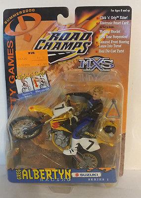 2000 ROAD CHAMPS MXS GRAVITY GAMES GREG ALBERTYN 7 TEAM SUZUKI RM250 MOTOCROSSER