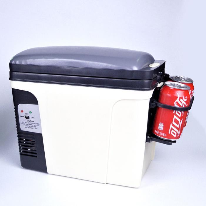 Portable Car Cooler Warmer 12V 110V Travel RV Refrigerator Truck Electric Fridge