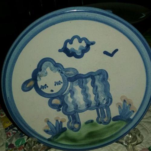 MA Hadley art pottery small sheep 6