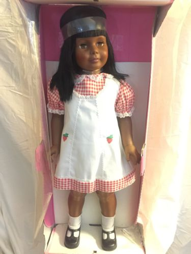 1981 Ideal Black Patty Playpal Doll Strawberry Gingham Dress (mint)