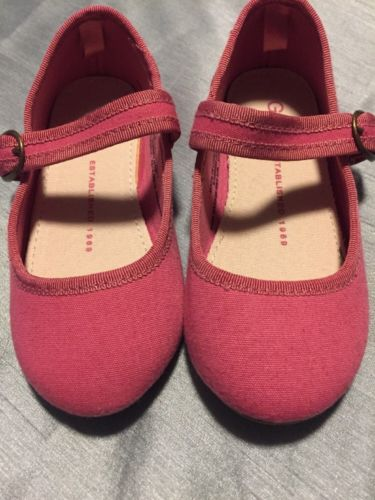 Gap baby Pink Mary Jane Shoes Toddler Girl Size 8