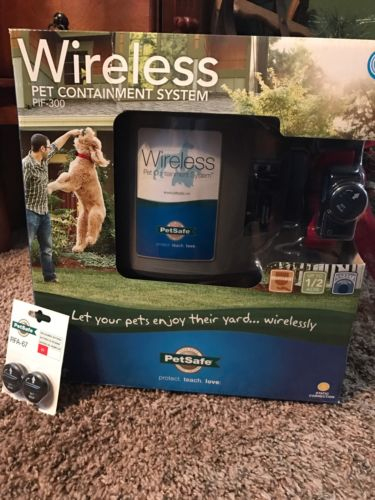 New! PetSafe Wireless Pet Containment System- 3 Yr Service Warranty & Batteries