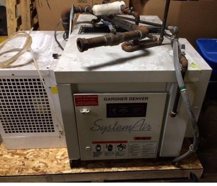 1999 Gardner Denver Air Compressor And Air Dryer System