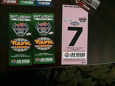 NASCAR - Las Vegas 2017 race weekend package!!!