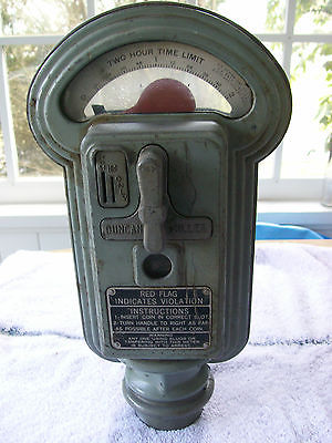 Vintage Duncan Miller Art Deco Parking Meter / Penny Nickel Dime