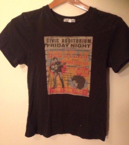 Women's Med Lucky Brand Bob Dylan T-shirt