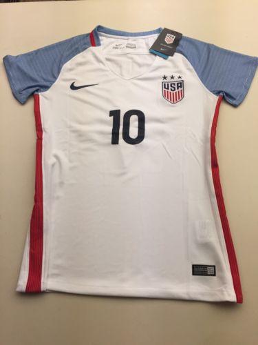 Carli Llyod #10 US Women's Soccer Jersey (Women's Large)