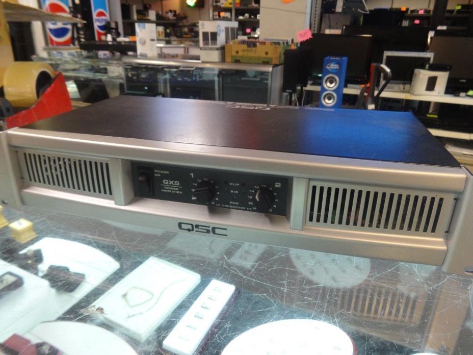 QSC GX5 Power Amplifier rack mount power amp