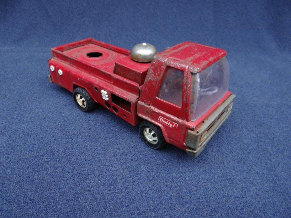Vintage 1960s Buddy L Fire Truck Pressed Steel PARTS/REPAIR 10