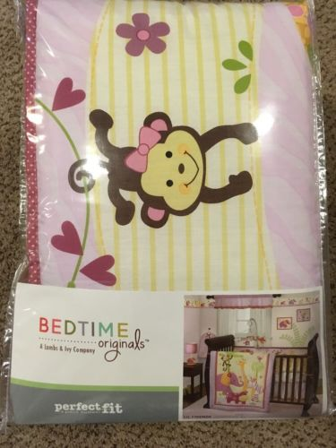 Perfect For Bedtime Originals Lambs And Ivy 4 Piece Bumper Lil Friends