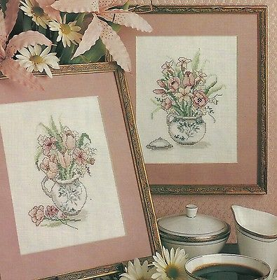 Country Bouquets  cross stitch pattern from magazine