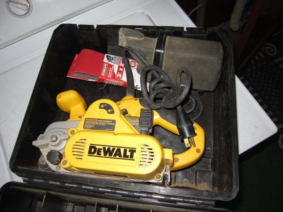 dewalt dw433. dewalt dw433 heavy-duty 3 x 21 v.s. belt sander dewalt dw433