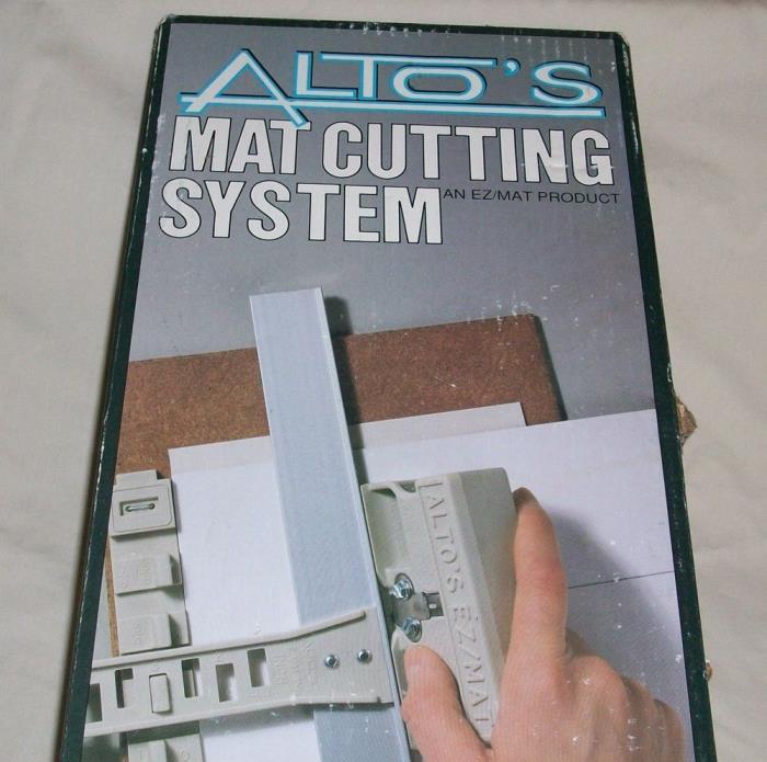 New Altos Mat Cutting System EZ/MAT Product Patented Dimensioning System Cut Mat